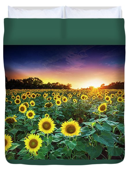 3 Suns Duvet Cover