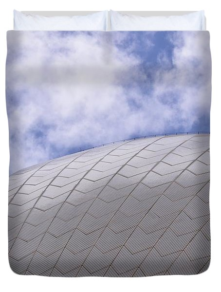 Sydney Opera House Roof Detail Duvet Cover