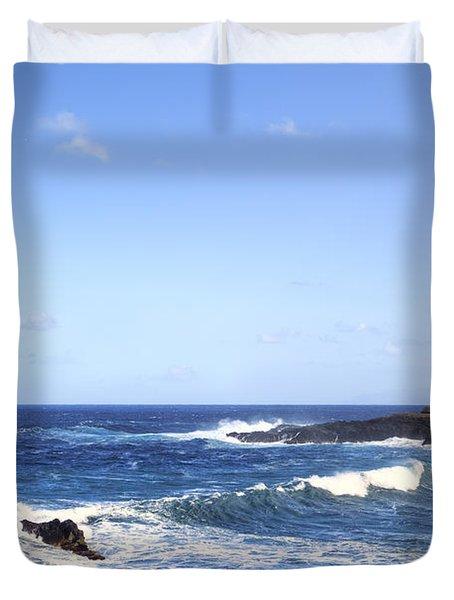 Tenerife - Garachico  Duvet Cover