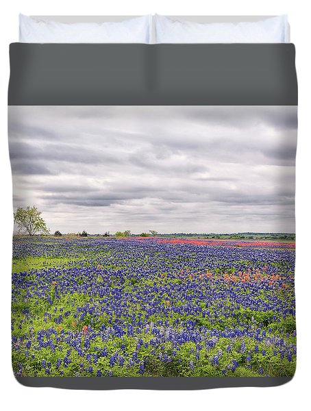 Texas Wildflowers 2 Duvet Cover