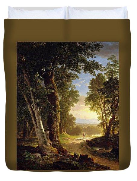 The Beeches Duvet Cover