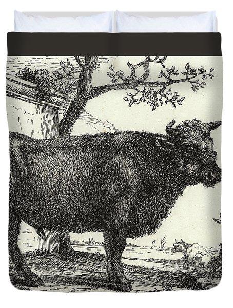 The Bull Duvet Cover