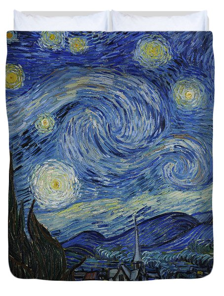 The Starry Night Duvet Cover