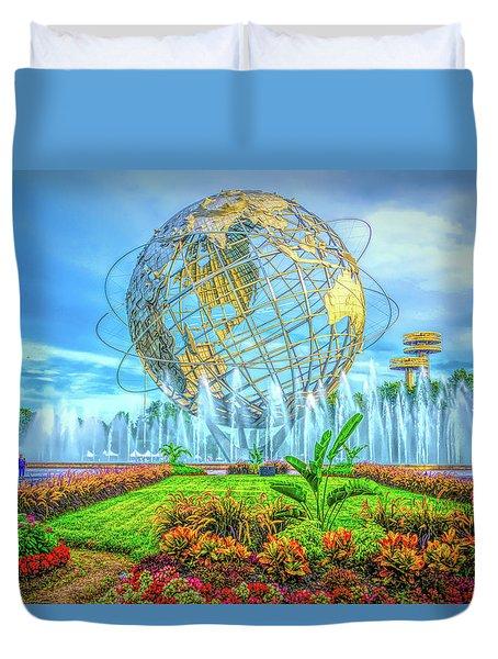 The Unisphere Duvet Cover