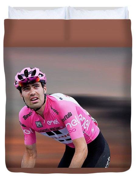 Tom Dumoulin 4 Duvet Cover