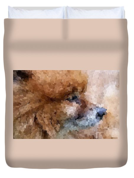 Tribute To Jojo Rip Buddy Duvet Cover