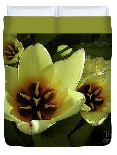 Tulip Lights #4 Duvet Cover