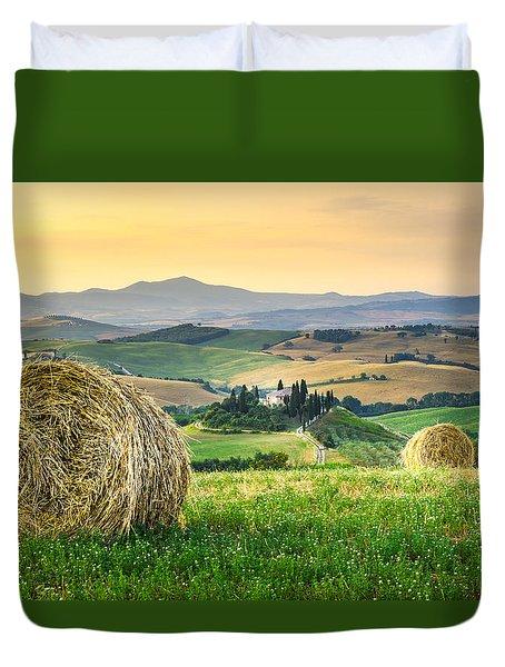 Tuscany Morning Duvet Cover