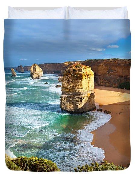 Twelve Apostles Great Ocean Road Duvet Cover