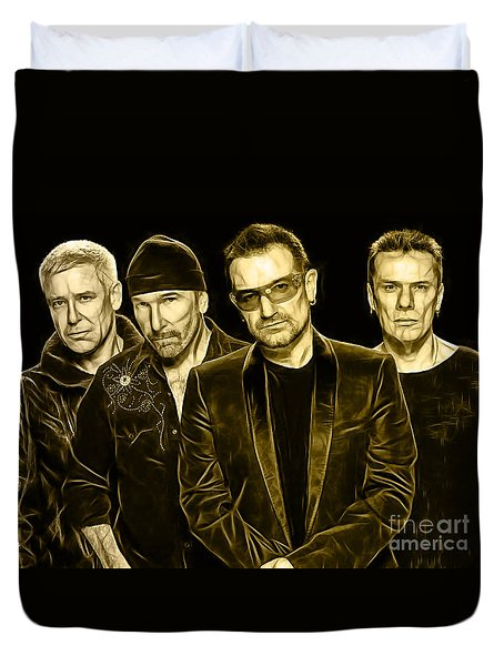 U2 Collection Duvet Cover