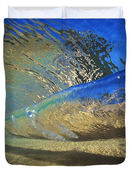 Underwater Wave Duvet Cover by Vince Cavataio - Printscapes