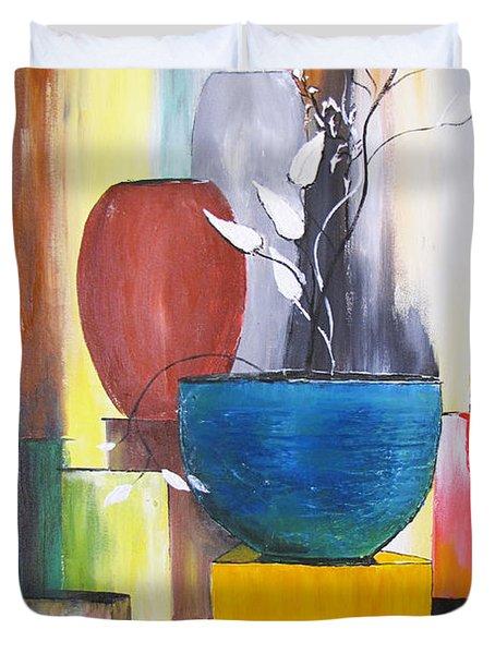 3 Vases Duvet Cover