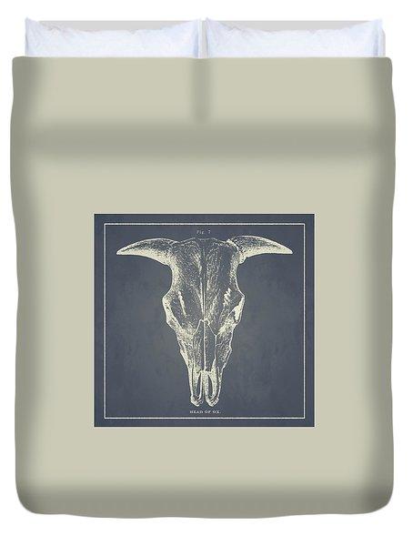 Vintage Ox Head Duvet Cover