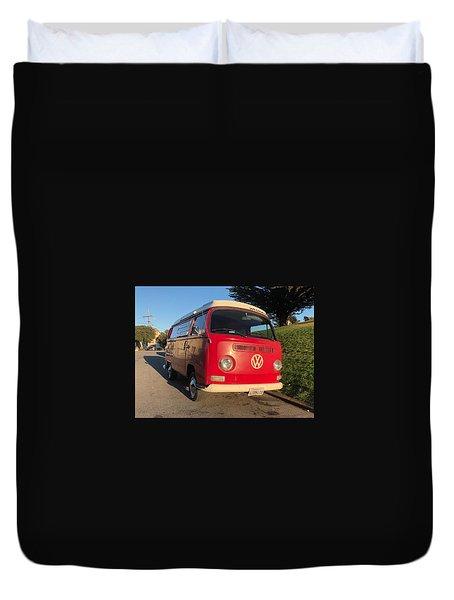Volkswagen Bus T2 Westfalia Duvet Cover