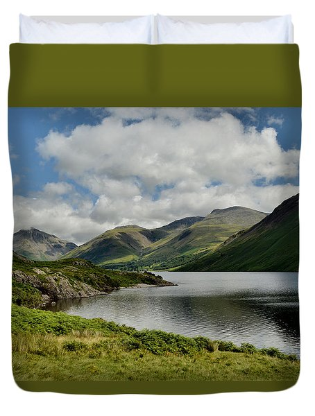 Wastwater Lake District Duvet Cover