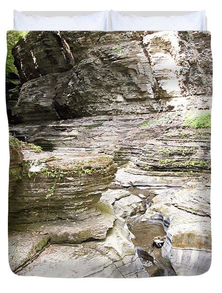 Watkins Glen New York Duvet Cover