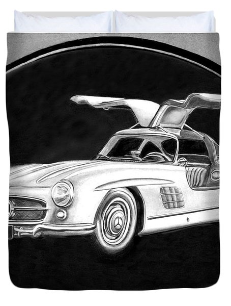 300 Sl Gullwing Duvet Cover