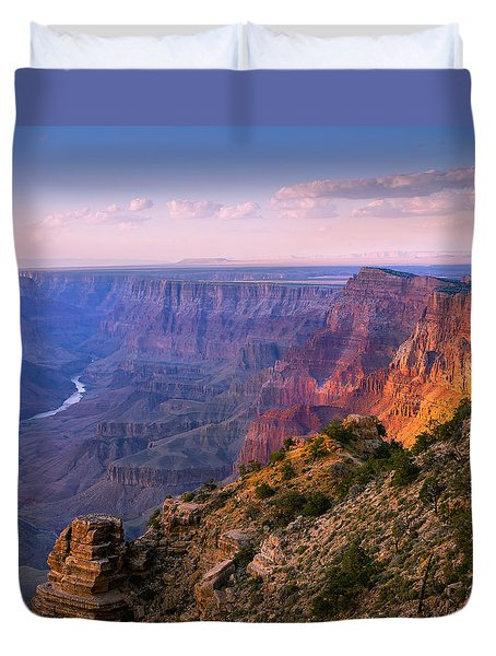 Canyon Glow Duvet Cover by Mikes Nature