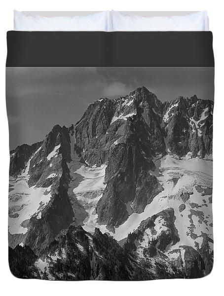 304630 Bw North Face Mt. Stuart Duvet Cover