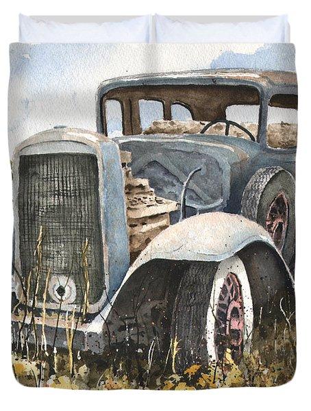 32 Buick Duvet Cover