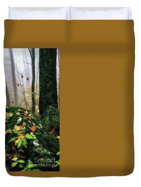 Autumn Monongahela National Forest Duvet Cover