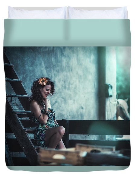 Duvet Cover featuring the photograph ... by Traven Milovich