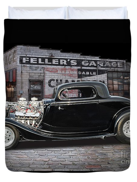 34 Ford Duvet Cover