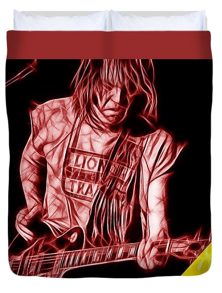 Neil Young Collection Duvet Cover