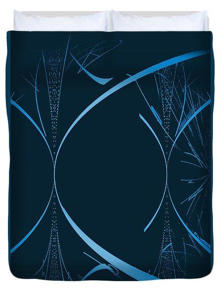 35 In Blue Duvet Cover