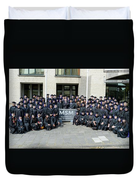 Msm Graduation Ceremony 2017 Duvet Cover