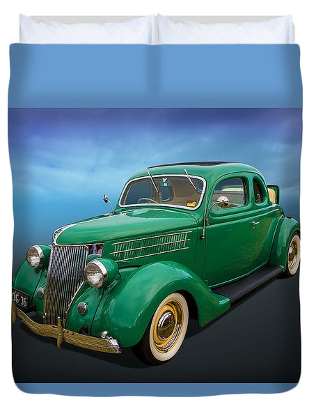 36 Ford Duvet Cover