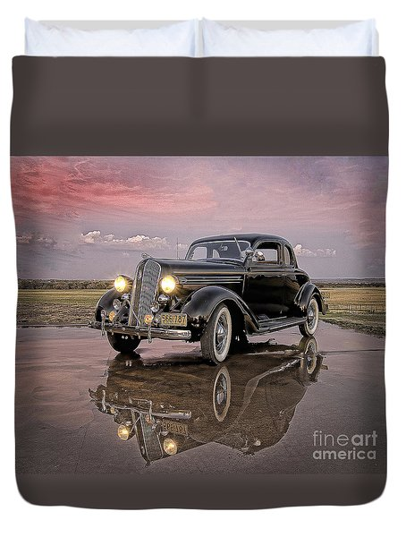 36 Plymouth Reflections Duvet Cover