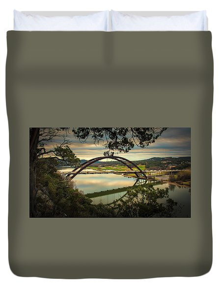 360 Bridge Duvet Cover