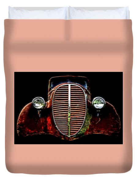 37 Chevy Duvet Cover