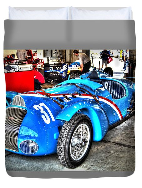 Delahaye Fast From The Front Duvet Cover
