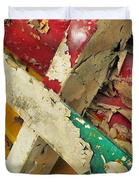 377 At 41 Series 1 Duvet Cover by Skip Hunt