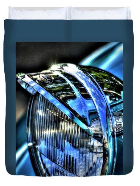 38 Ford Headlamp Duvet Cover