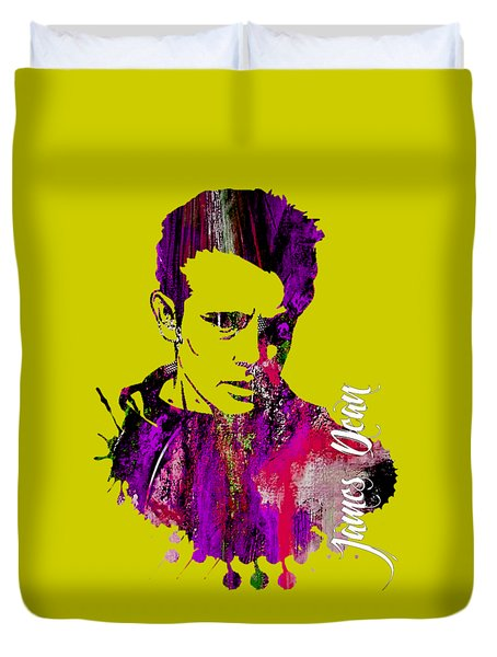 James Dean Collection Duvet Cover by Marvin Blaine
