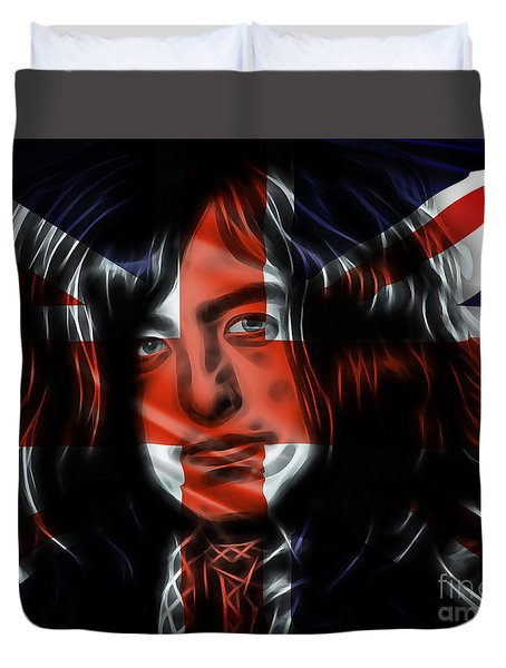 Jimmy Page Collection Duvet Cover