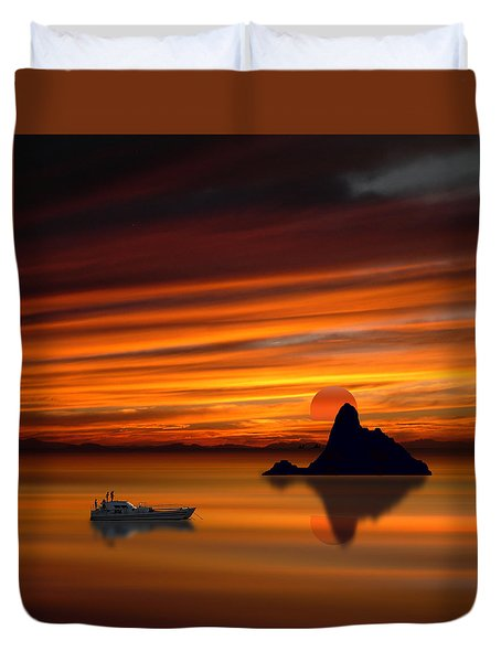 3971 Duvet Cover by Peter Holme III
