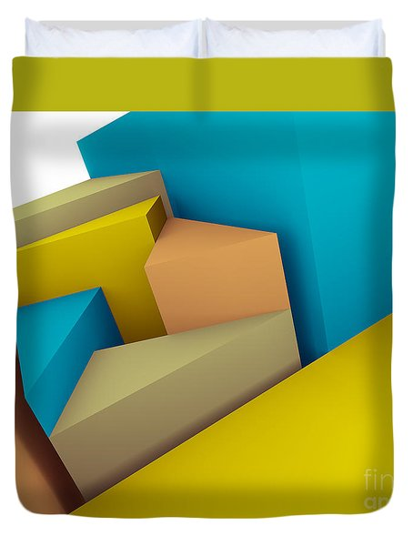 3d Abstraction  Duvet Cover