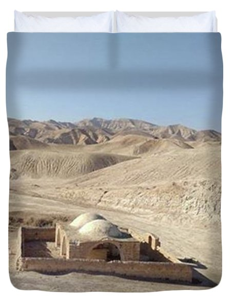 Temple For Water Duvet Cover