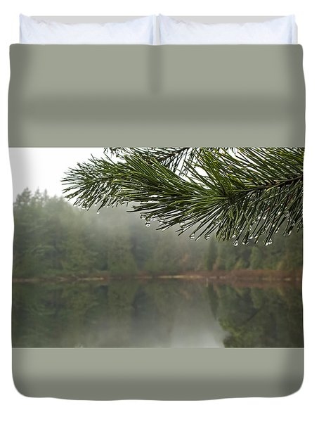 After The Rain Duvet Cover by Inge Riis McDonald
