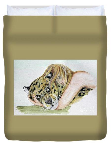Anam Leopard Duvet Cover