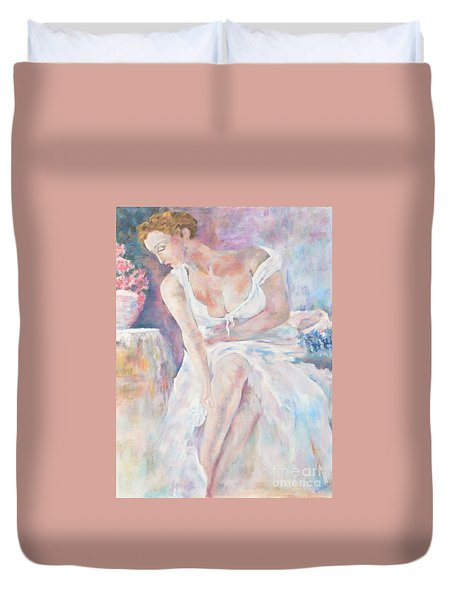 Art Study  Duvet Cover