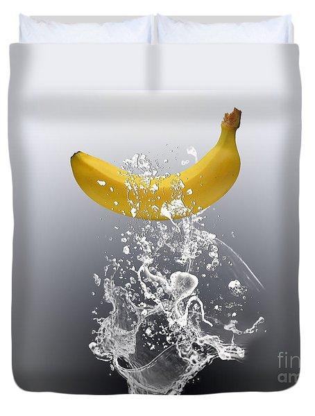 Banana Splash Duvet Cover by Marvin Blaine