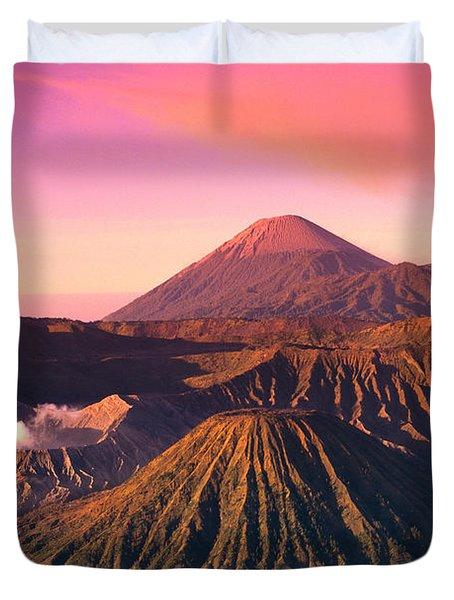 Bromo Tengger Semeru Duvet Cover by Gloria & Richard Maschmeyer - Printscapes