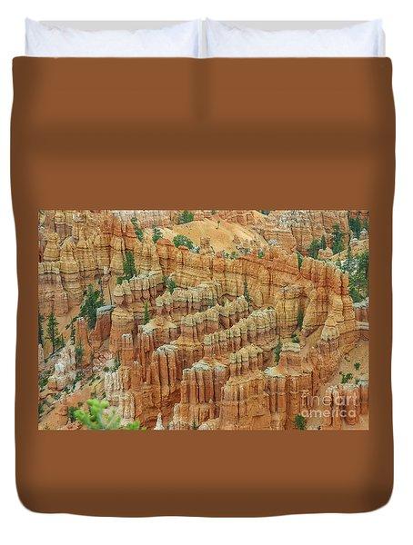 Bryce National Park, Utah Duvet Cover by Patricia Hofmeester
