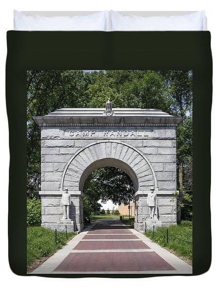 Camp Randall Memorial Arch - Madison Duvet Cover