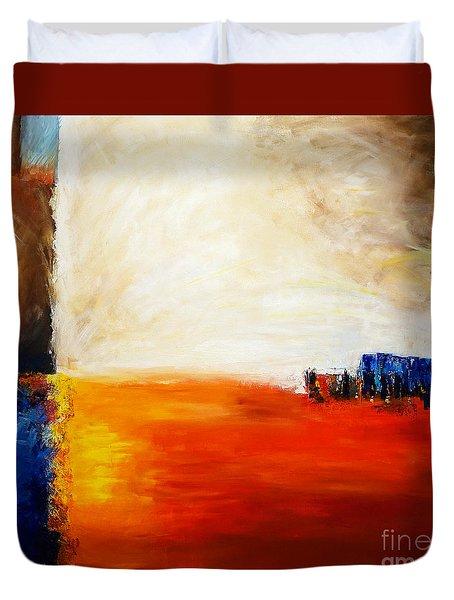 4 Corners Landscape Duvet Cover